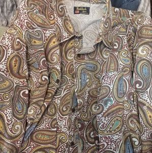 Rudduck Paisley shirt